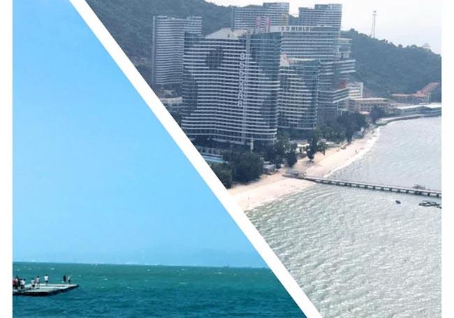 合家欢便利店2020年惠州巽寮湾风景照