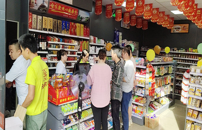 东莞连锁便利店罗马合家欢经营现场图