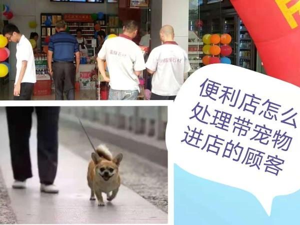 便利店加盟店怎么处理带宠物进店的顾客